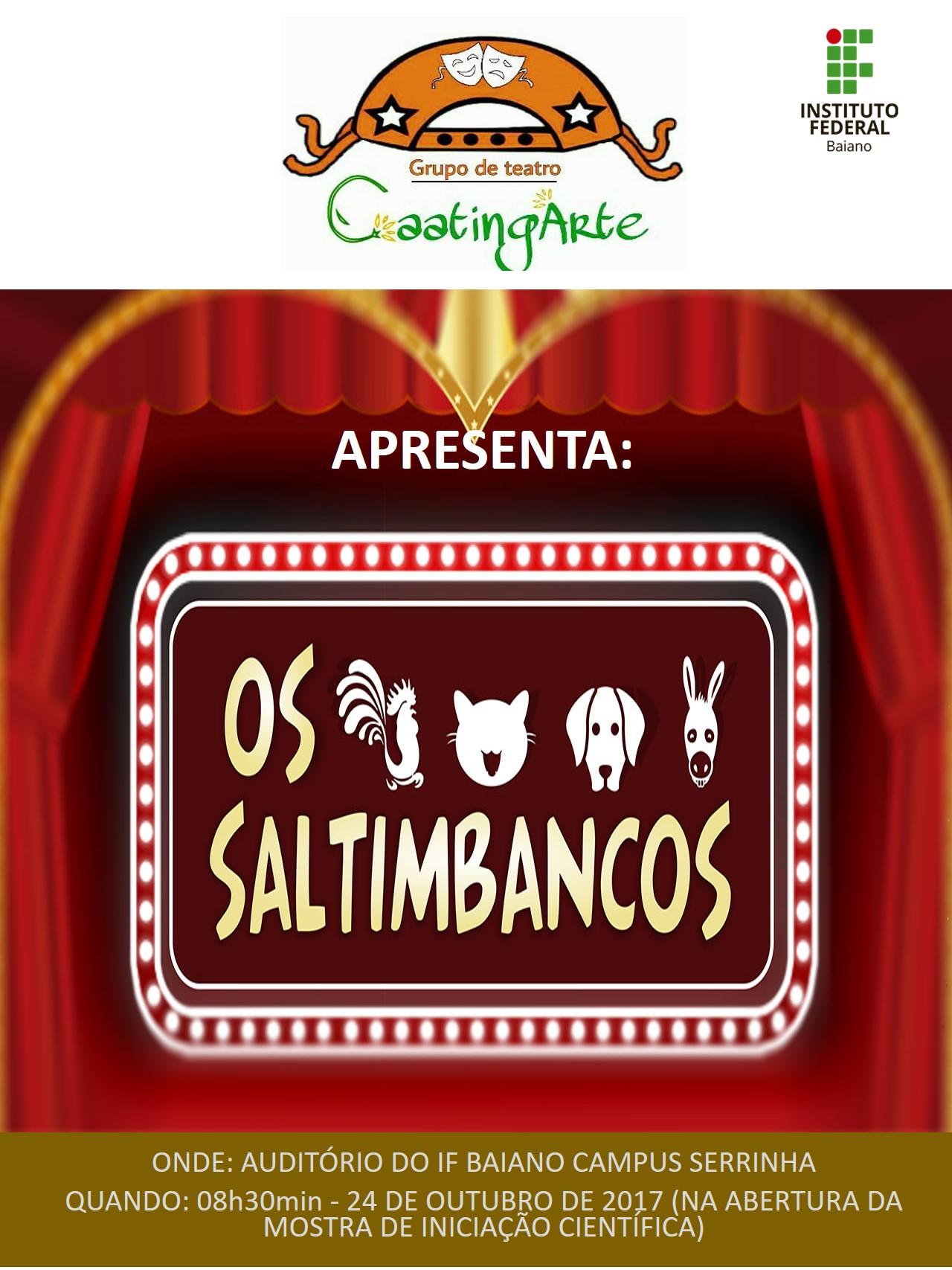 CARTAZ CAATINGARTE_saltimbancos